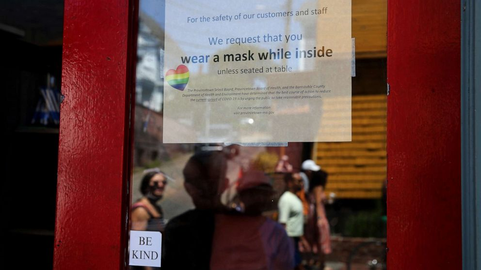 CDC mask decision followed stunning findings from Cape Cod beach outbreak - ABC News