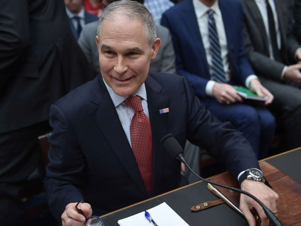 EPA chief Scott Pruitt resigns amid ethics scandals""