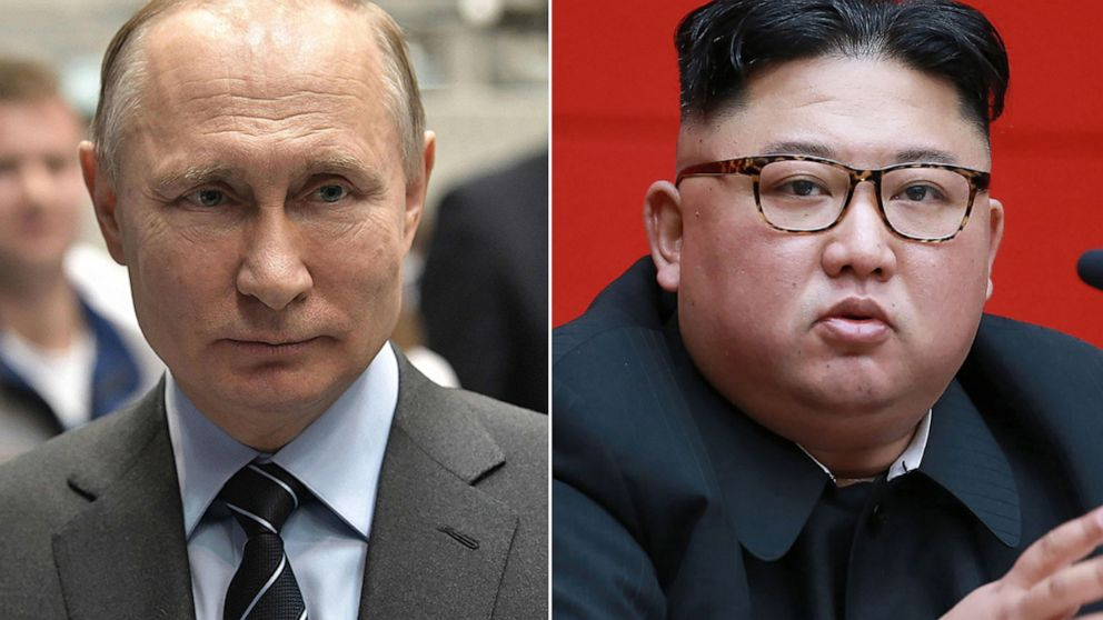 Kim Jong Un To Meet Vladimir Putin As North Korea Pivots To Russia For Help Abc News