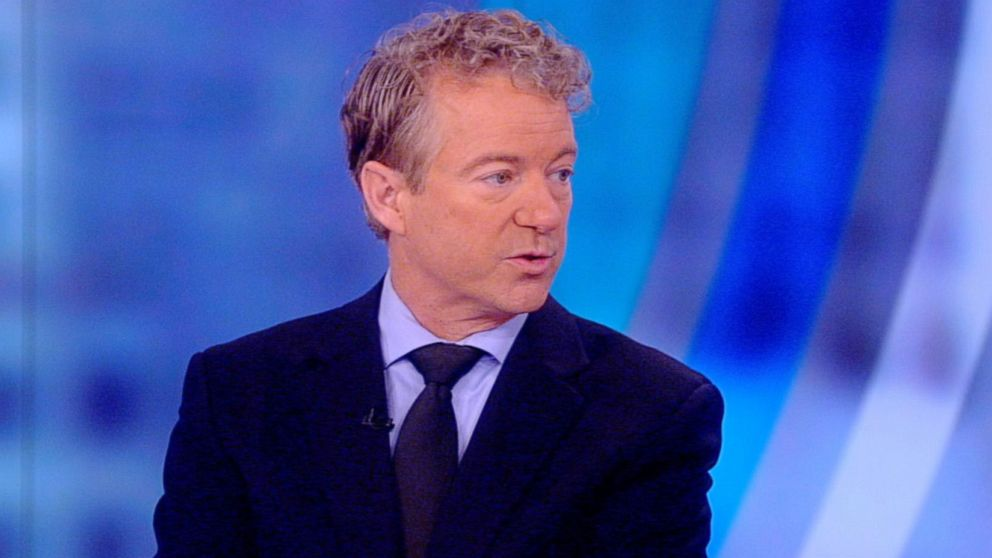 """Sen. Rand Paul appears on """"The View,"""" Feb. 2, 2018."""