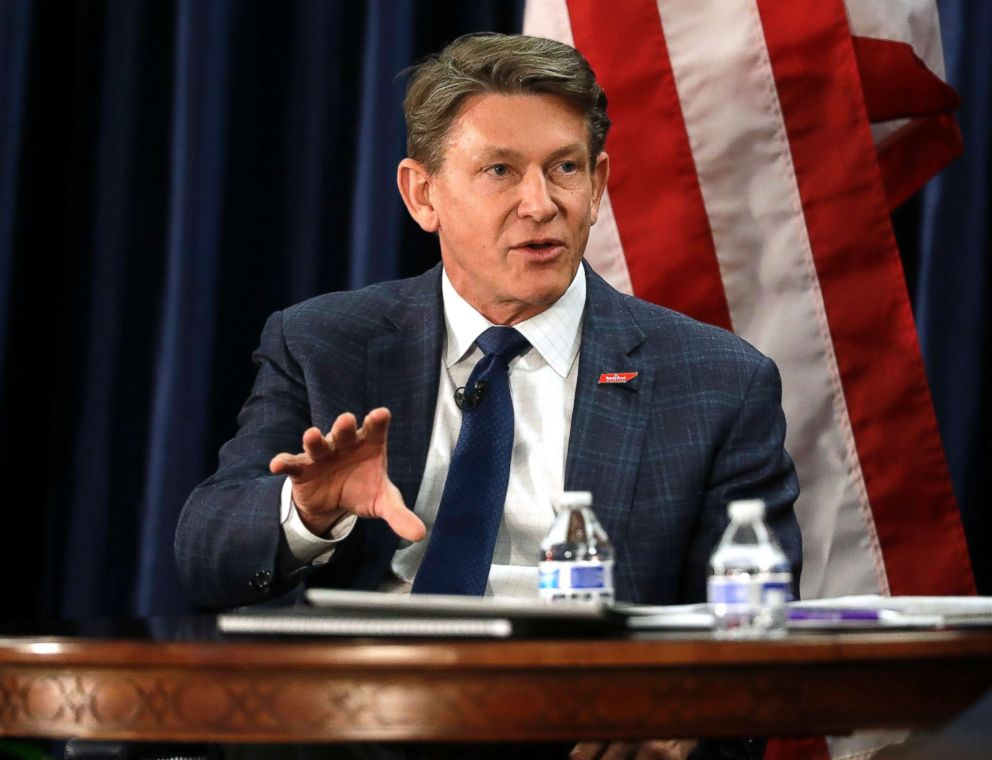 PHOTO: Randy Boyd, former state economic and community development commissioner, participates in a gubernatorial candidate forum in Nashville, Tenn, Jan. 29, 2018.