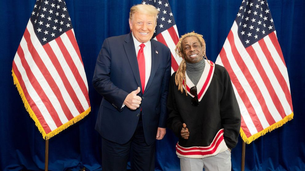 "NEW: Rapper Lil Wayne meets with Pres. Donald Trump on the administration's proposed plan for Black America: ""He listened to what we had to say today and assured he will and can get it done."""