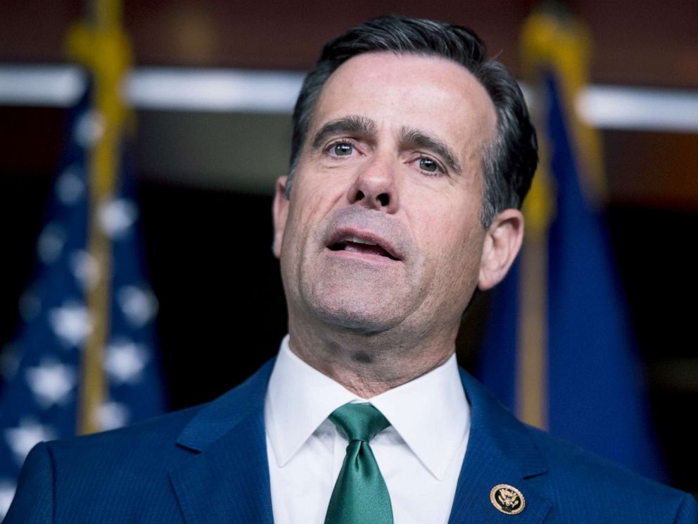PHOTO: Rep. John Ratcliffe, R-Texas, speaks during the House GOP post-caucus press conference in the Capitol, March 26, 2019.