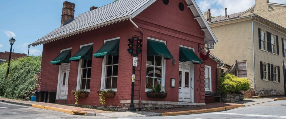 PHOTO: In this June 23, 2018 photo shows the Red Hen Restaurant in downtown Lexington, Va.