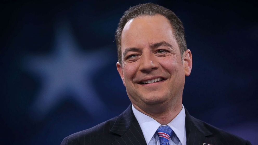 Reince Priebus participates in a discussion on March 4, 2016, in National Harbor, Md.