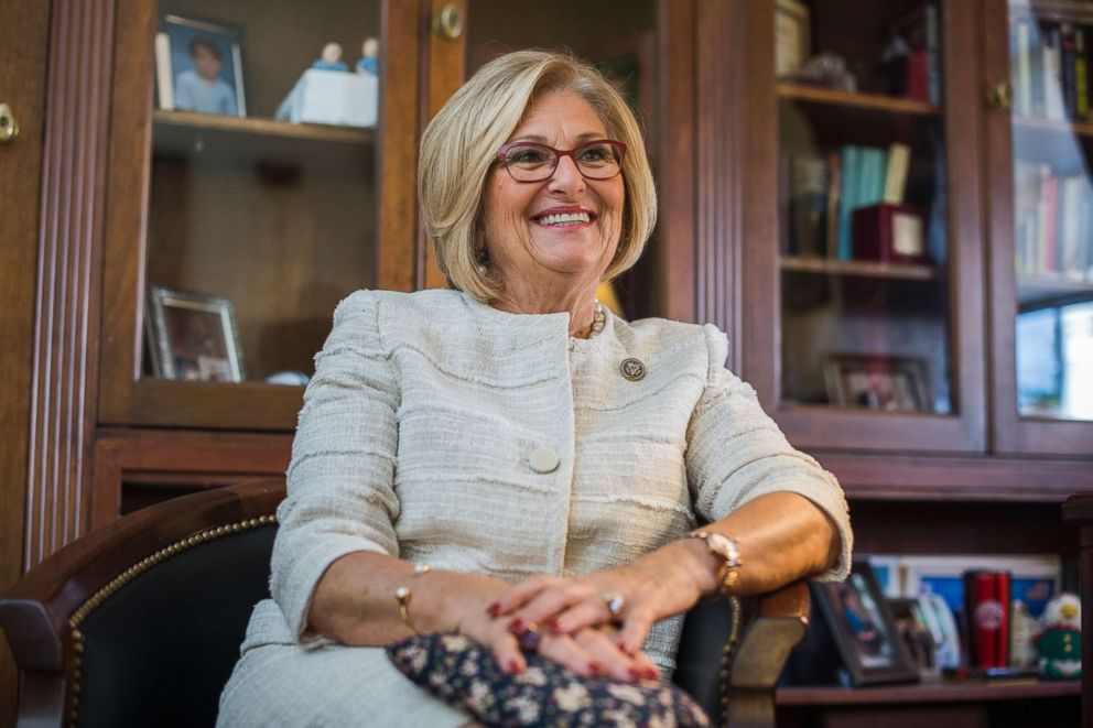 PHOTO: Rep. Diane Black, R-Tenn., chairman of the House Budget Committee, is interviewed in her Longworth Building office on Oct. 3, 2017.