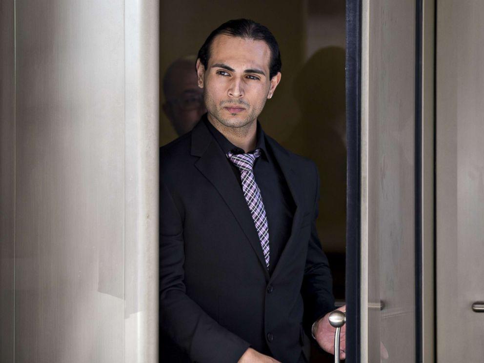 PHOTO: Richard Pinedo of Santa Paula, Calif., exits federal court after sentencing in Washington, D.C., Oct. 10, 2018.