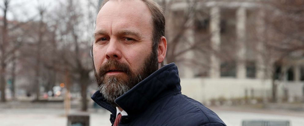 PHOTO: Rick Gates departs Federal District Court, Feb. 14, 2018, in Washington.