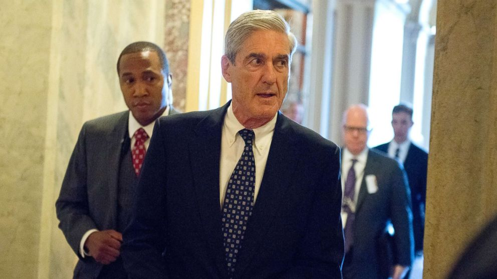 Special Counsel Robert Mueller departs the United States Capitol following his closed-door meeting with top members of the U.S. Senate Committee on the Judiciary in Washington, D.C., June 21, 2017.