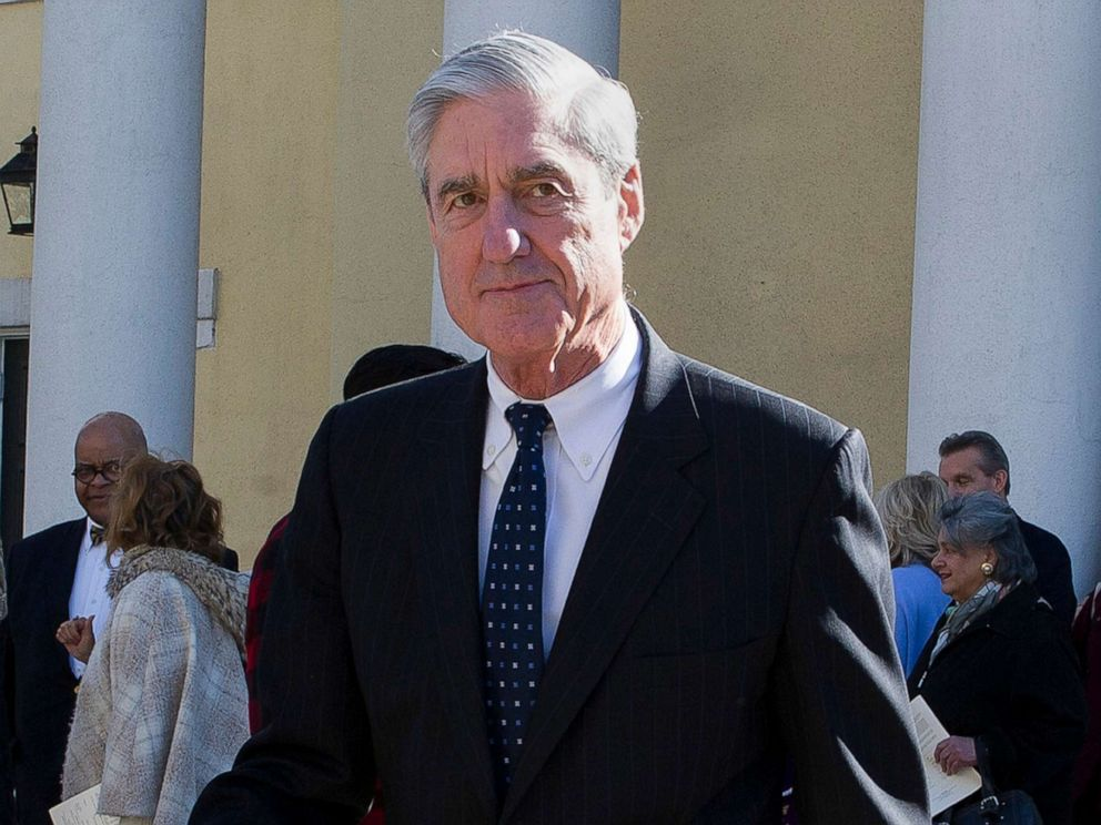 PHOTO: Special counsel Robert Mueller leaves following a Sunday morning church service across from the White House in Washington, D.C, March 24, 2019.