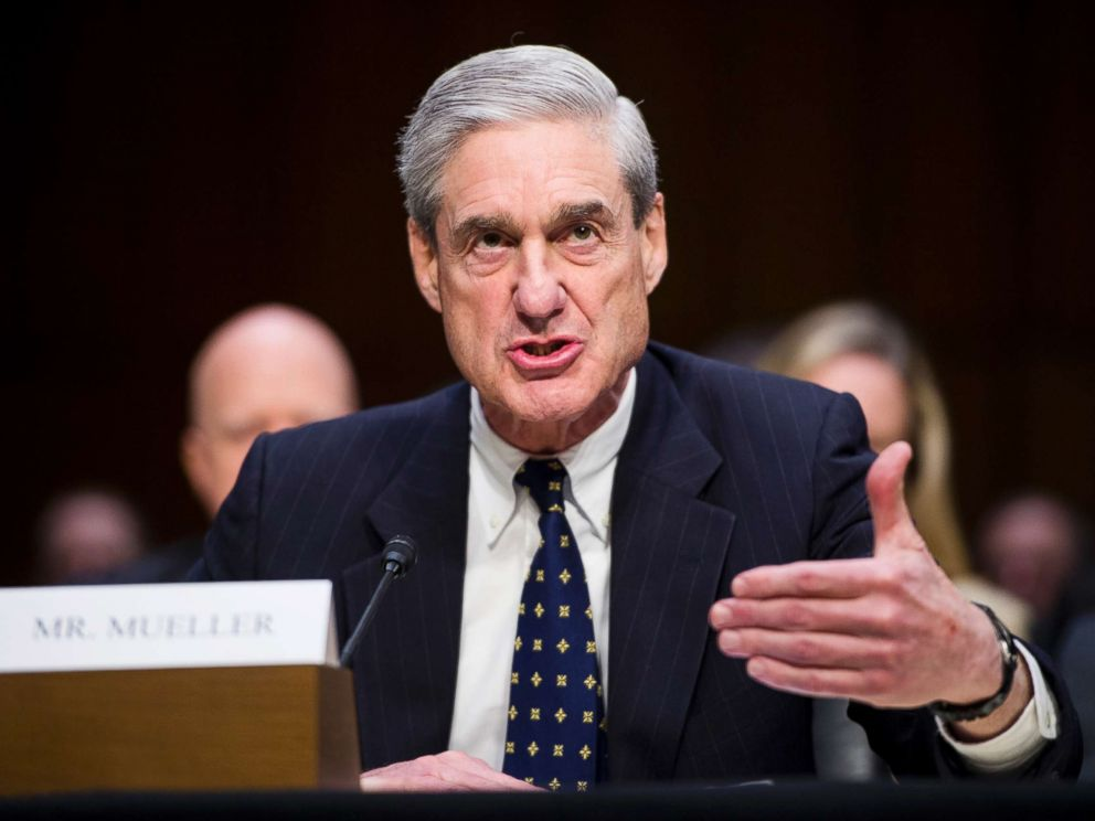 PHOTO: Federal Bureau of Investigation director Robert Mueller testifies during a Senate (Select) Intelligence Committee hearing in this March 12, 2013, file photo.