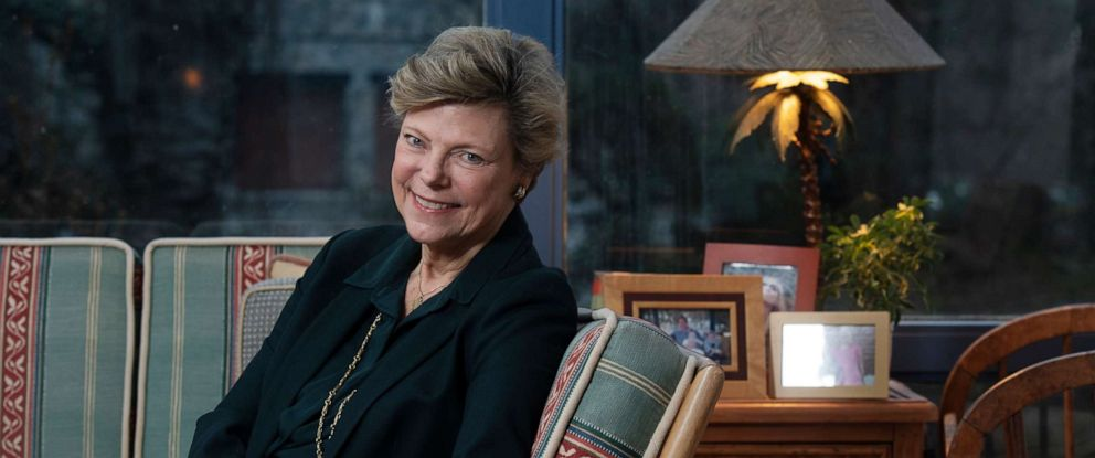 PHOTO: Journalist and author Cokie Roberts photographed in her home in Bethesda, Maryland on February 05, 2019.