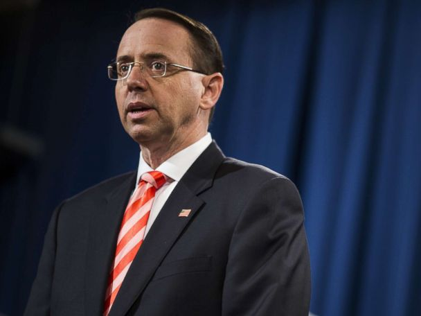 Top Republicans pressing Rosenstein on turning over documents