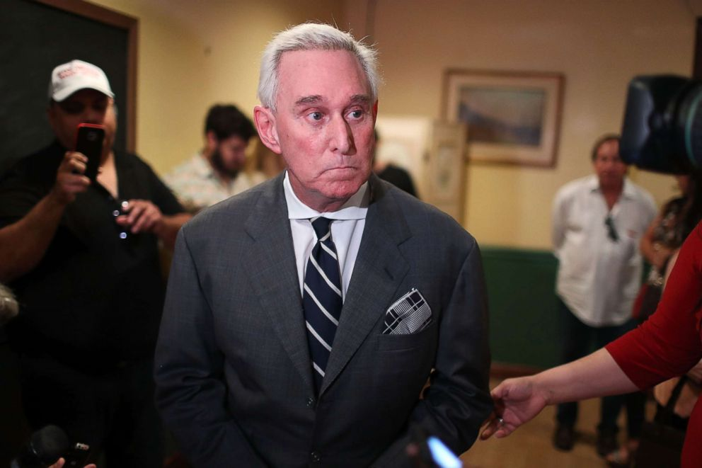Associate of Roger Stone says he expects to be indicted by Mueller