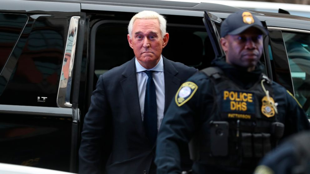 Image result for Roger Stone pleads not guilty