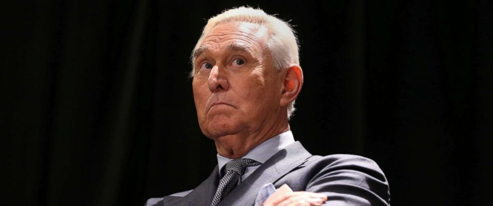 PHOTO: Roger Stone, longtime ally of President Donald Trump, arrives for a news conference in Washington, D.C., Jan. 31, 2019.