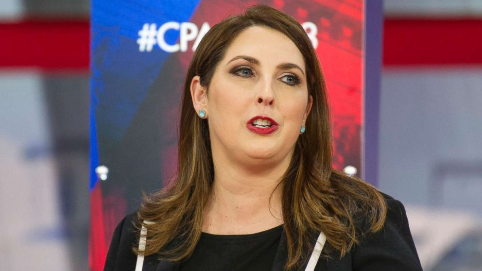 Ronna Romney McDaniel, Chair, Republican National Committee, speaks at the Conservative Political Action Conference (CPAC) in National Harbor, Md. on Feb. 23, 2018.