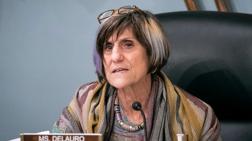 PHOTO: Rep. Rosa DeLauro speaks during a hearing on Capitol Hill in Washington, Jan. 4, 2020.