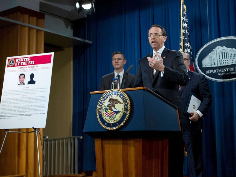 https://s.abcnews.com/images/Politics/rosenstein-briefing-samsam-attack-ap-jef-181128_hpMain_4x3_992.jpg