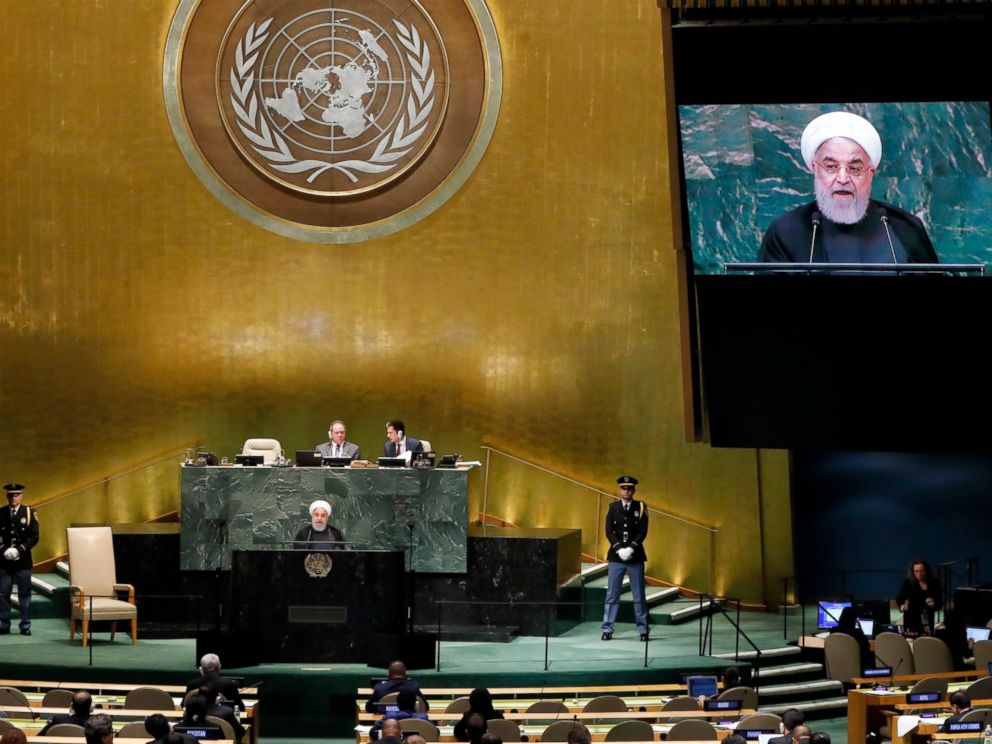 Trump turns ire toward Iran, alienating allies at UN