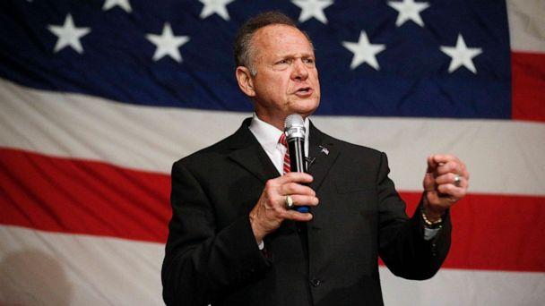 Trump warns Roy Moore to stay out of 2020 Alabama Senate race, Doug Jones mocks him