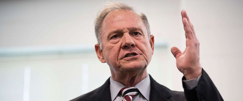 PHOTO: U.S. Senate Roy Moore speaks during a candidates forum in Valley, Ala., Aug. 3, 2017.