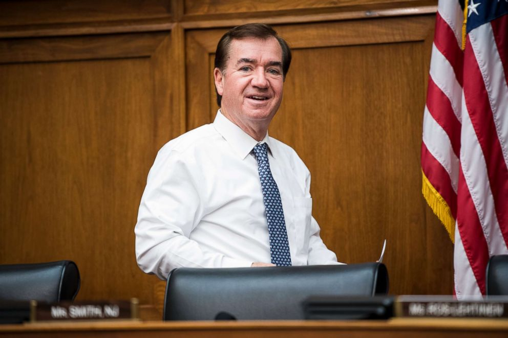 PHOTO: Chairman Ed Royce, R-Calif., arrives for the House Foreign Affairs Committee hearing on An Insiders Look at the North Korean Regime, Nov. 1, 2017.
