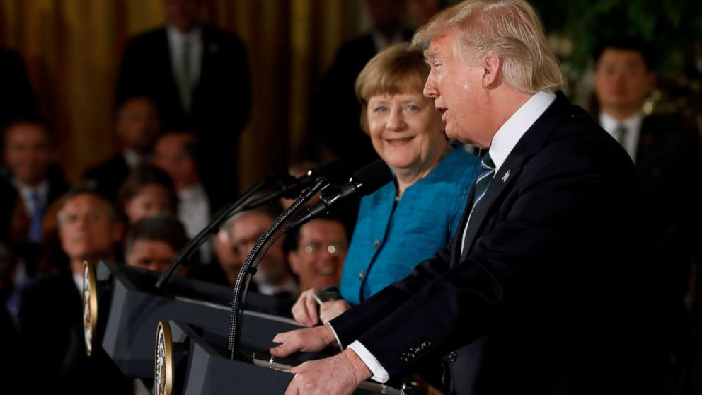 What Trump And Merkel Have Said About Each Other Abc News