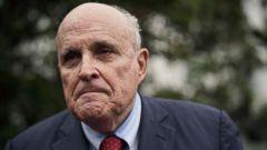 President Trump's lawyer Rudy Giuliani