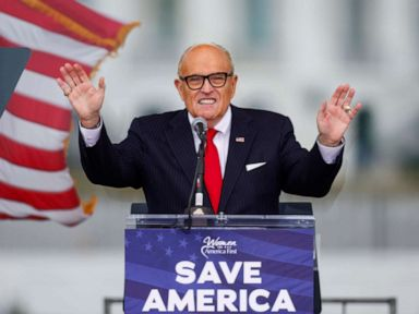 Giuliani says he's on Trump's impeachment team, would argue voter fraud claims