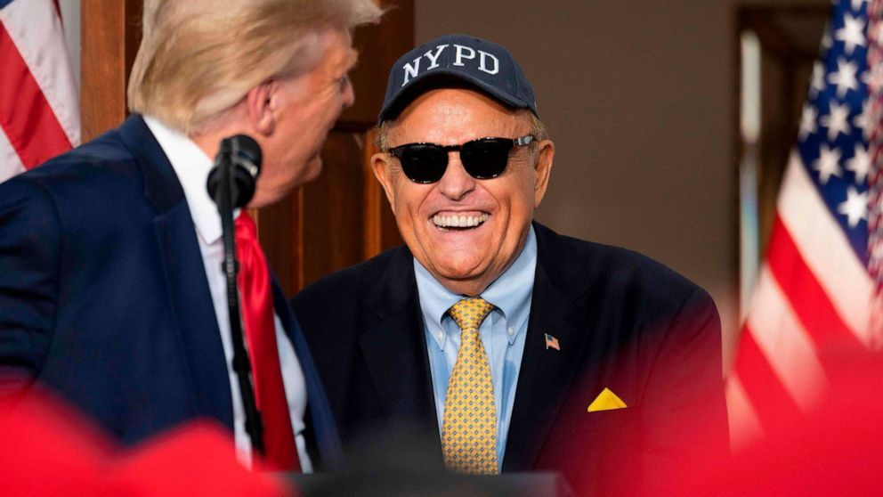 Rudy Giuliani, once 'America's mayor,' now mired in controversy, facing legal scrutiny thumbnail
