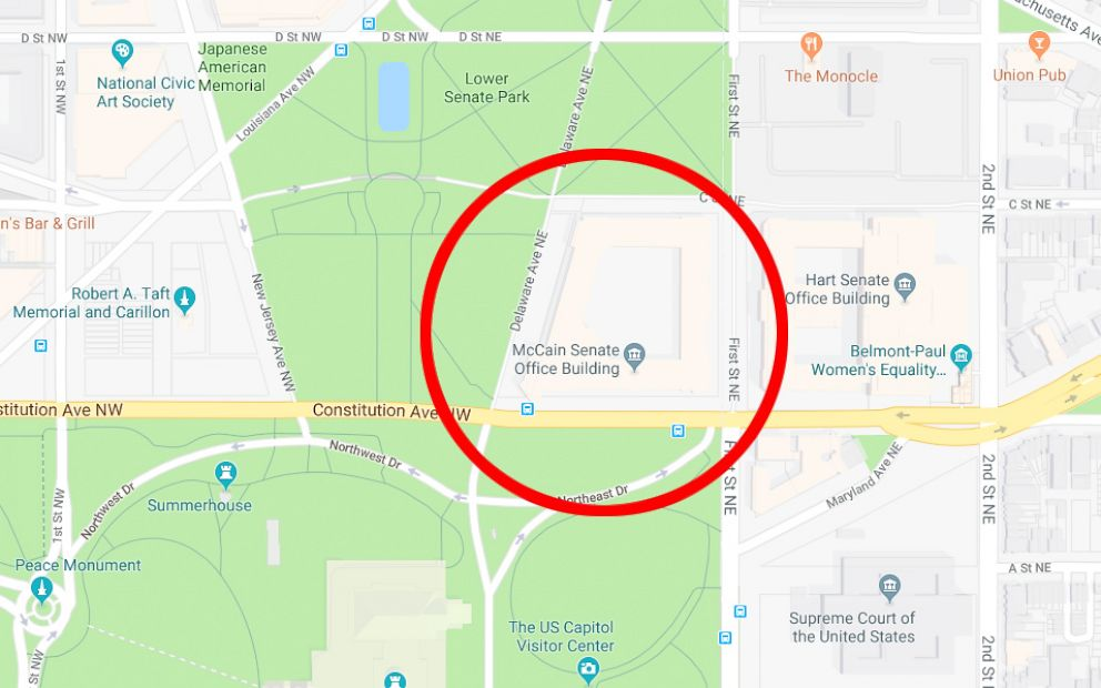 Google Maps briefly renames Senate office building after ... on google goggles, satellite map images with missing or unclear data, amazon fire phone maps, aerial maps, gppgle maps, bing maps, goolge maps, stanford university maps, iphone maps, google voice, gogole maps, road map usa states maps, route planning software, search maps, google map maker, google sky, google mars, android maps, google translate, yahoo! maps, google moon, online maps, waze maps, msn maps, googlr maps, microsoft maps, google search, topographic maps, google chrome, googie maps, ipad maps, google docs, aeronautical maps, web mapping,