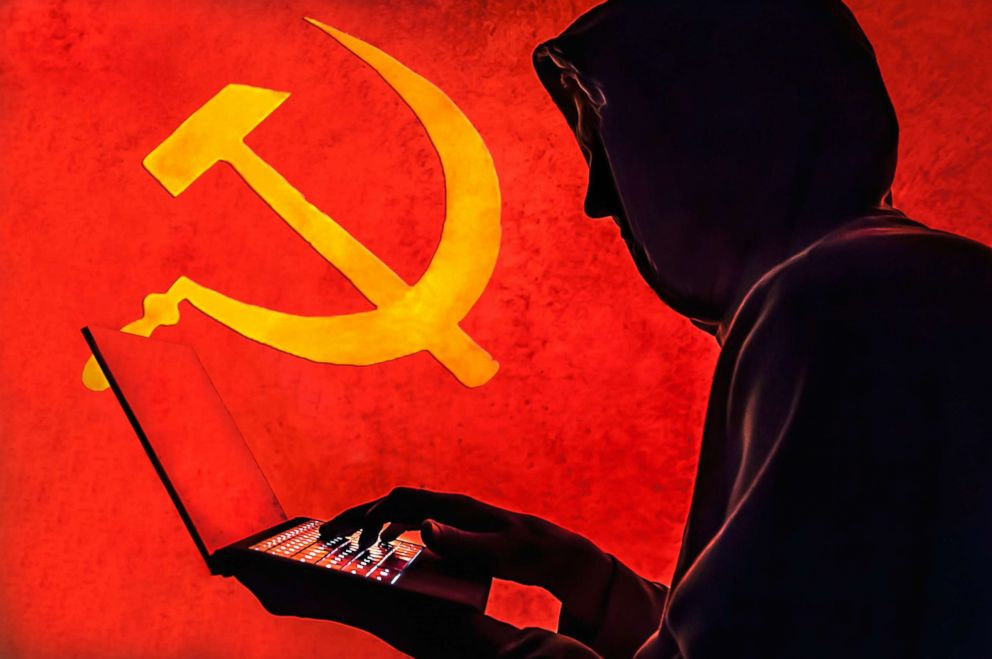 PHOTO: A silhouette of a Russian hacker is pictured in this undated stock photo illustration.