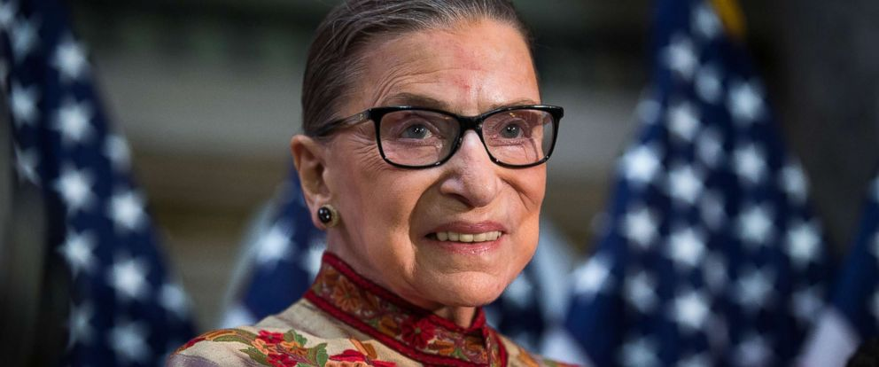PHOTO: Justice Ruth Bader Ginsburg poses for a portrait on Capitol Hill in Washington, March 18, 2015.