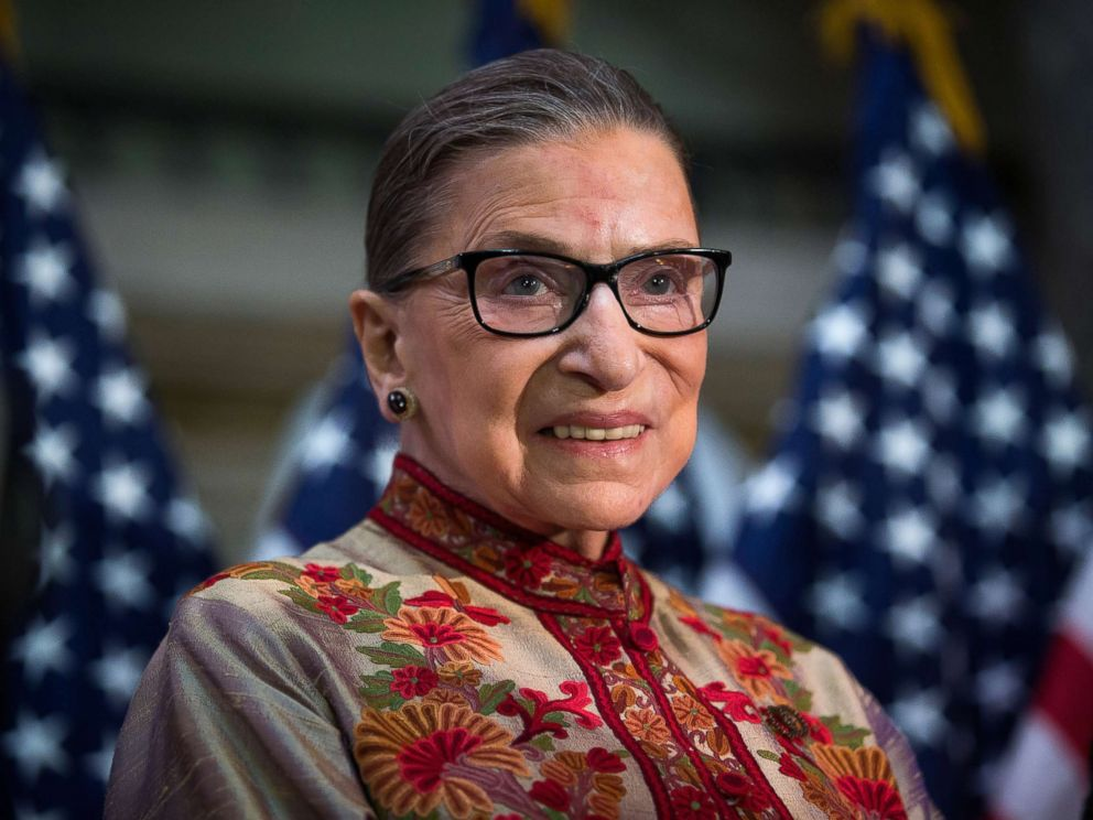 5f960c83 PHOTO: Justice Ruth Bader Ginsburg poses for a portrait on Capitol Hill in  Washington,