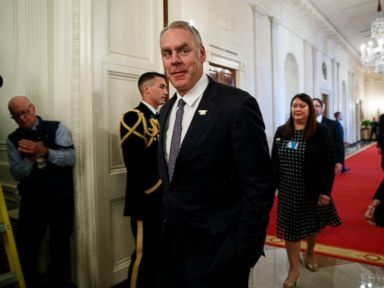 Trump announces Ryan Zinke to leave administration in surprise announcement