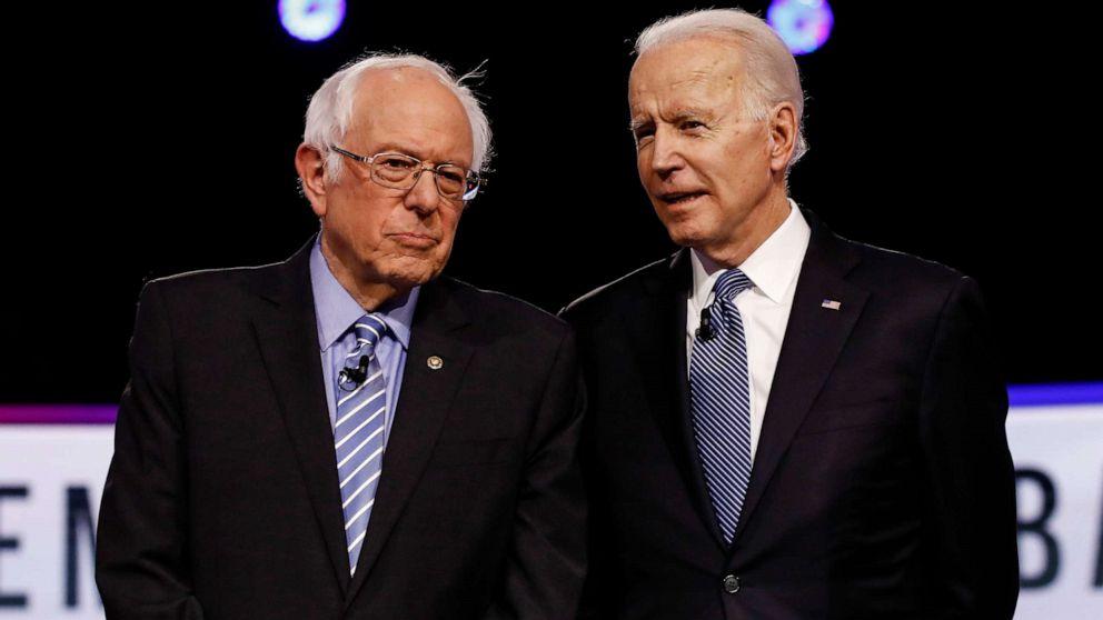 Bernie Sanders endorses Joe Biden, they announce 'working groups ...