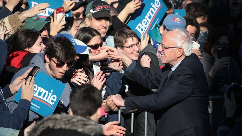 Sen. Sanders vows to stay course in quest to become Democratic presidential nominee