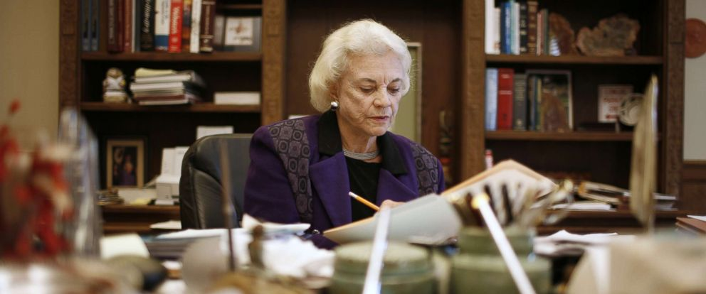 PHOTO: Former Supreme Court Justice Sandra Day OConnor in her offices at the United States Supreme Court, Jan. 23, 2007, in Washington, D.C.
