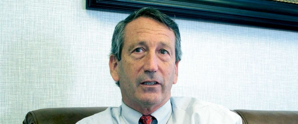 PHOTO: Rep. Mark Sanford, R-S.C., discusses his first months back in Congress during an interview in Mount Pleasant, S.C., Dec. 18, 2013.
