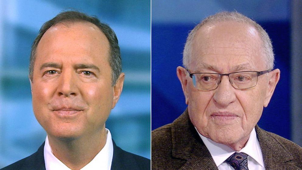 としてDems押しのための証人には上院、Alan Dershowitz博impeachment場合