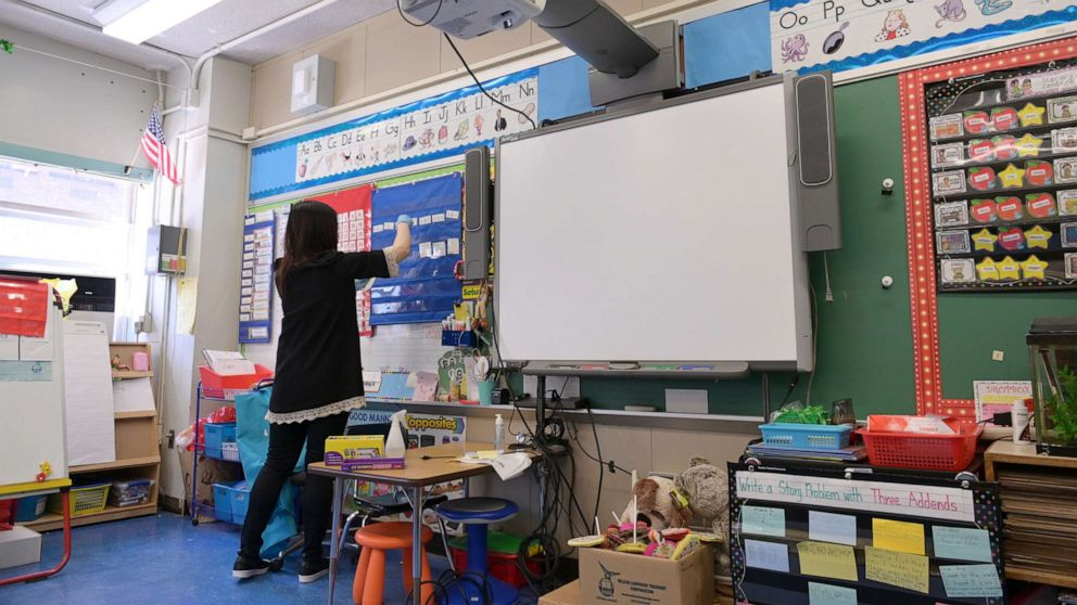 Teachers worry about return to classroom amid surges in COVID-19 cases
