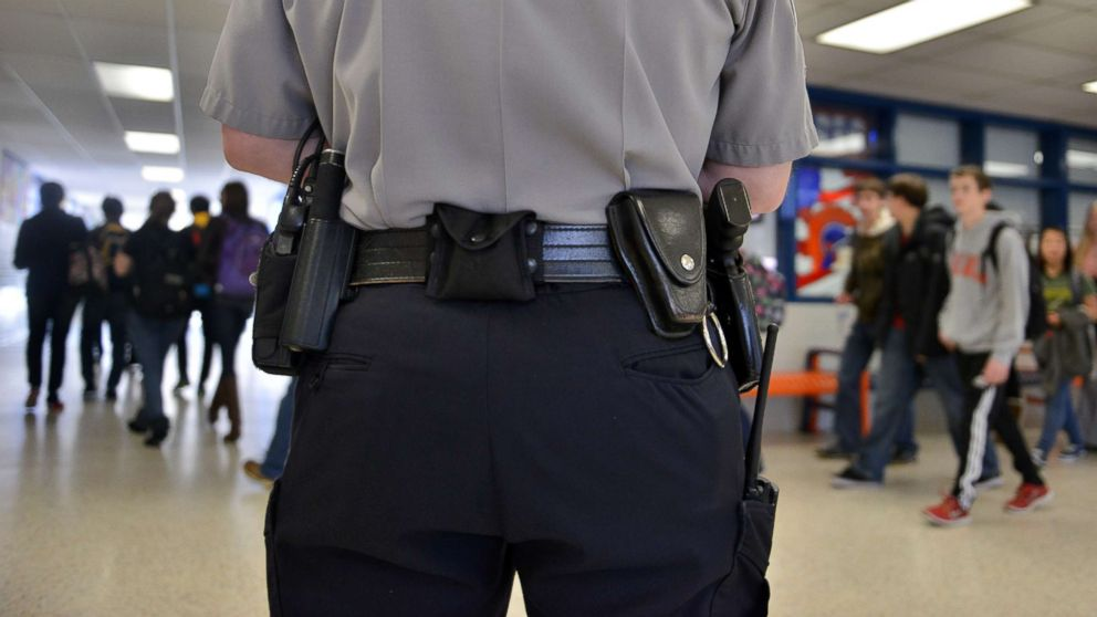 safety with armed guards patrolling school Sferrazza said that enfield and fermi high schools and john f kennedy middle school will be staffed with an armed security guard and a town police officer already assigned to the school.
