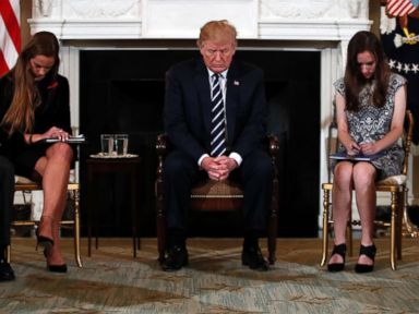 Trump holds listening session with students on mass shootings