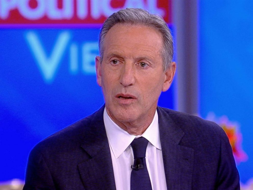 PHOTO: Howard Schultz, former CEO of Starbucks appears on ABCs The View, Jan. 29, 2019.