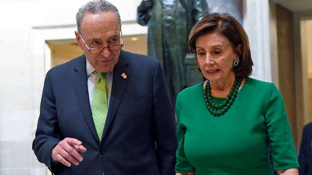 Demokraten wollen $500B mehr in der Krise-Entlastung, Aufbau-Senat showdown