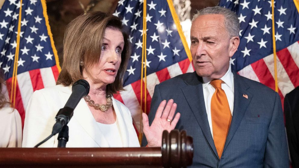 'Start Here': Democrats pressure Trump on weapons and team on capsized cargo ship freed thumbnail