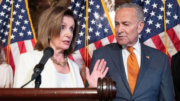 'Start Here': Democrats pressure Trump to take on gun control and rescuers free crew members from capsized cargo ship