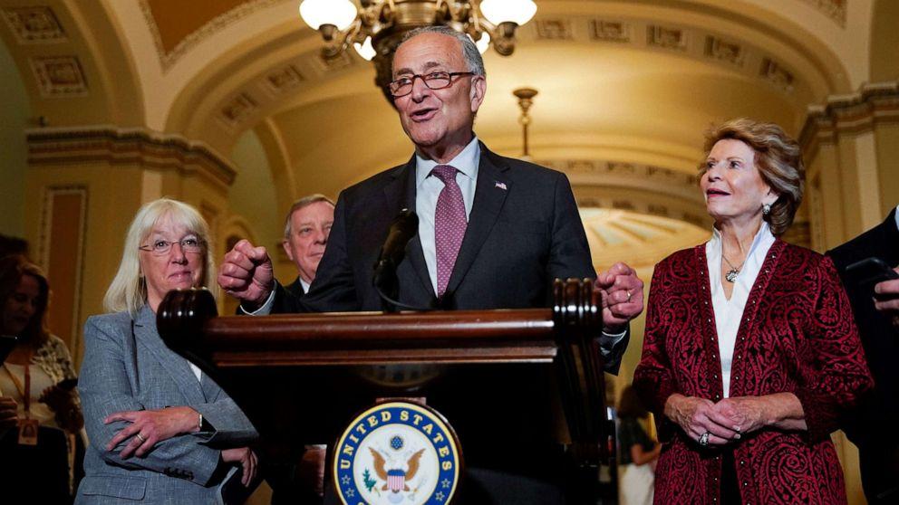 Democratic senators move to decriminalize marijuana at the federal level