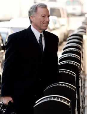 PHOTO: Lewis Scooter Libby, former Chief of Staff to Vice President Dick Cheney, arrives at the federal court house in Washington. D.C., in this Feb. 28, 2007, in Washington, D.C.
